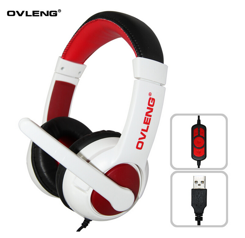 New 1pcs/Lot OVLENG Q10 USB Stereo Headset Game Wire Headphones Earphone for Computer Dropshipping<br><br>Aliexpress