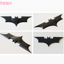 2016 NECA DC Comics Batman Arkham The Dark Knight 10cm Metal Batarang Replica Action Figure Collectible Model Toy As For Cosplay(China)