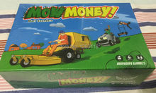 Board Games Mow Money ! with 106 Bid Cards games 2-6 players by Matt Saunders Mayday Games MDG-4317 solo play available ages 10+