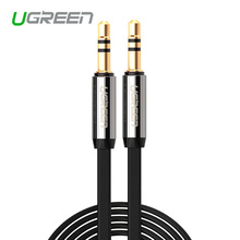 Ugreen High quality  Jack 3.5 Car AUX Cable Male to Male 3.5mm Audio Cable 1M 2M 3M 5M for iPhone Tablet Headphone Amplifer