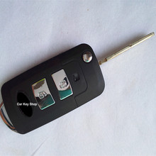 BRAND NEW Modified Replacement Shell Folding Remote Key Keyless Entry Housing Case Fob 2 Button for KIA Sportage