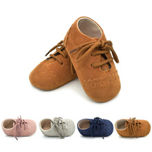 Hot Baby Leather Moccasins Soft Baby Shoes Footwear Baby Girl Shoes Kids Newborns Infant First Walkers Baby Walker Boy Shoes(China)