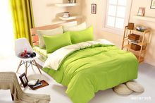 1pcs Cotton Blend Duvet Cover Solid Color Comforter Cover Duble Side Can Be Used Twin Full Queen King Size(China)