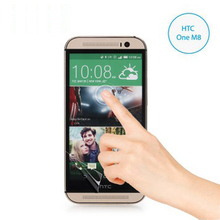 Free Shipping for For HTC one 2 M8 Power Support Film Set Anti-Glare Screen  Protector For HTC one 2 M8 Screen Protector