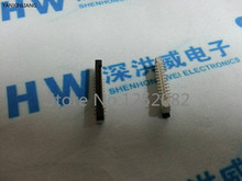 100PCS/LOT FFC / FPC flat cable connector socket 0.5MM 24P Vertical SMD connection Pitch 0.5mm 0.5A-LT-24PF