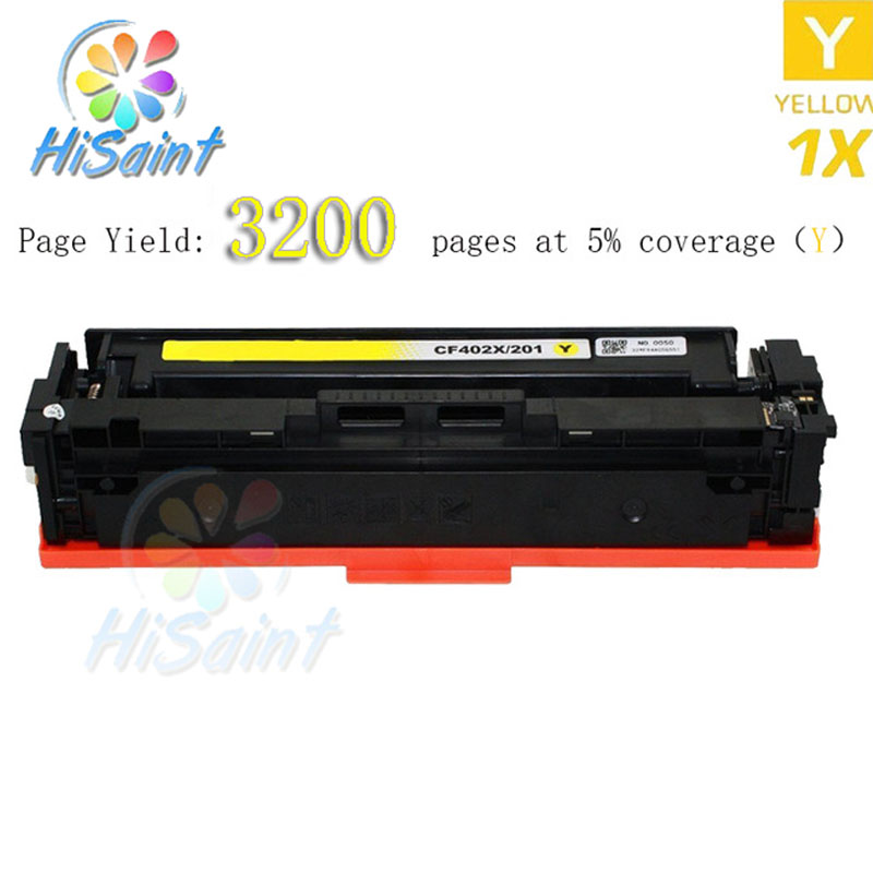 Generic High Yield Compatible for HP 201X CF400X CF-400X Yellow Toner Cartridge Replacement for Color LaserJet Pro M252dw<br><br>Aliexpress