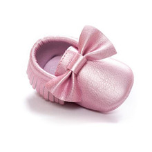 Fashion shimmer baby soft shoes bowknot casual comfortable shoes for baby girl and boy best gift