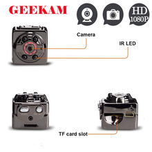 GEEKAM SQ8 Mini Camera HD 1080P Night Vision Infrared Nanny Digital Micro Camera Motion Detection Camcordor Mini DV Camera PK Q7
