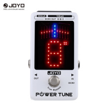 JOYO Power Tune True Bypass Electric Guitar Bass Tuner & 8 Port Multi-power Power Supply Supplier Effect