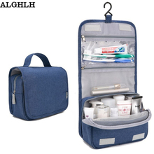 2017 Sale Women Travel Portable Beautician Cosmetic Bags Men High Quality Makeup Toiletry Bag Hanging Organayzer Wash Storage(China)