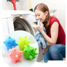 !Hot Selling 4piece/lot Detergent Winding Preventing Cleaning Cleaner Magic Washing Wash Laundry Ball & Discs(China)