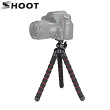 Buy SHOOT Large Size Flexible Octopus Tripod Nikon Canon DSLR Digital Camera Photography Light Tripod Stand Tablet for $9.10 in AliExpress store