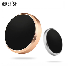 JEREFISH Universal Car Magnetic Phone Holder Dock for iPhone Samsung Xiaomi Sony GPS Phone Mount  Car Key Holder