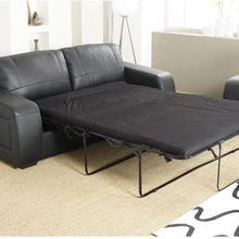 MANBAS Sofa Bed Modern Genuine Cow Leather Sectional Sofa