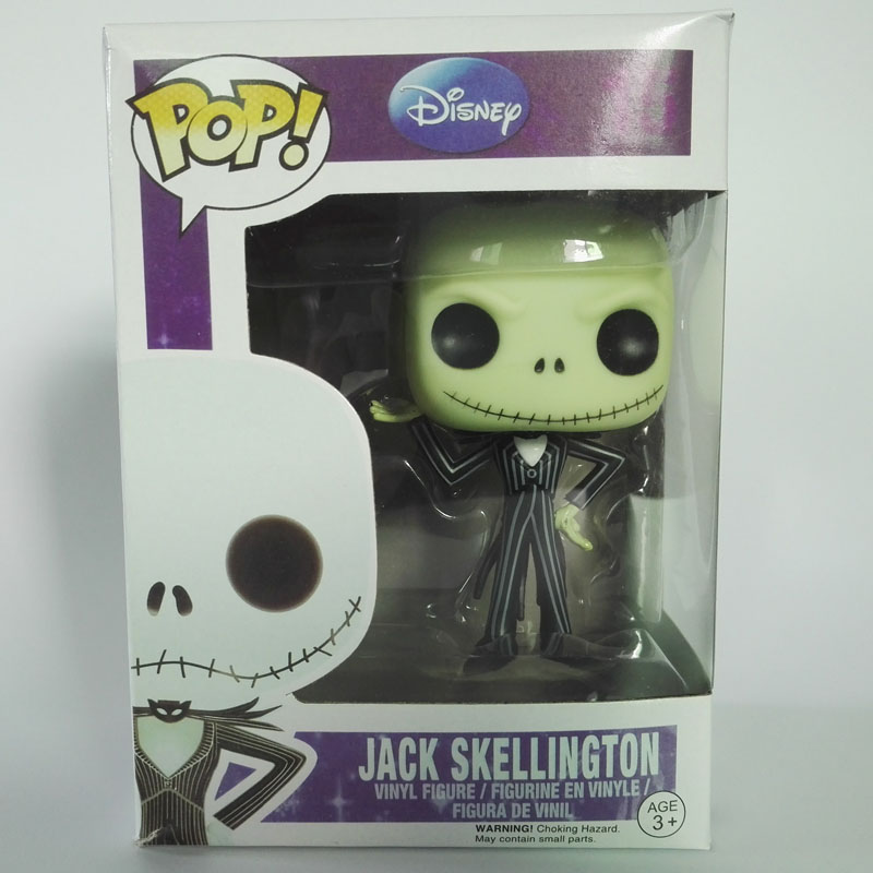 FUNKO Pocket POP Nightmare Before Christmas Jack Skellington toy doll Model Collection Ring with Original Box D5250<br><br>Aliexpress
