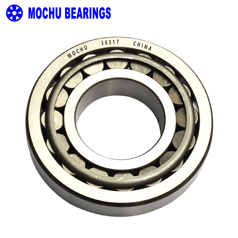 1pcs Bearing 30317 85x180x44.5 30317-A 30317J2 7317E Cone + Cup High Quality Single Row Tapered Roller Bearings<br>