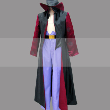 Customize One Piece Shichibukai Hawk Eyes Dracule Mihawk Cosplay Costume Outfit