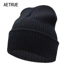 Gorros Chapéu do Inverno Para Homens Malha Chapéu Do Inverno Chapéus Das  Mulheres Para mulheres Homens Knit Caps Em Branco Ocasi. 222ab3689e1