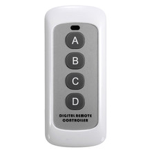New RF443MHz Smart Home Controls Wireless Mini Remote Control Controller For Wall Touch Light Switch Accessaries