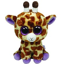 "Ty Beanie Boos 20"" 50cm Safari the Giraffe Plush Large Stuffed Animal Collection Big Eyes Doll Toy(China)"