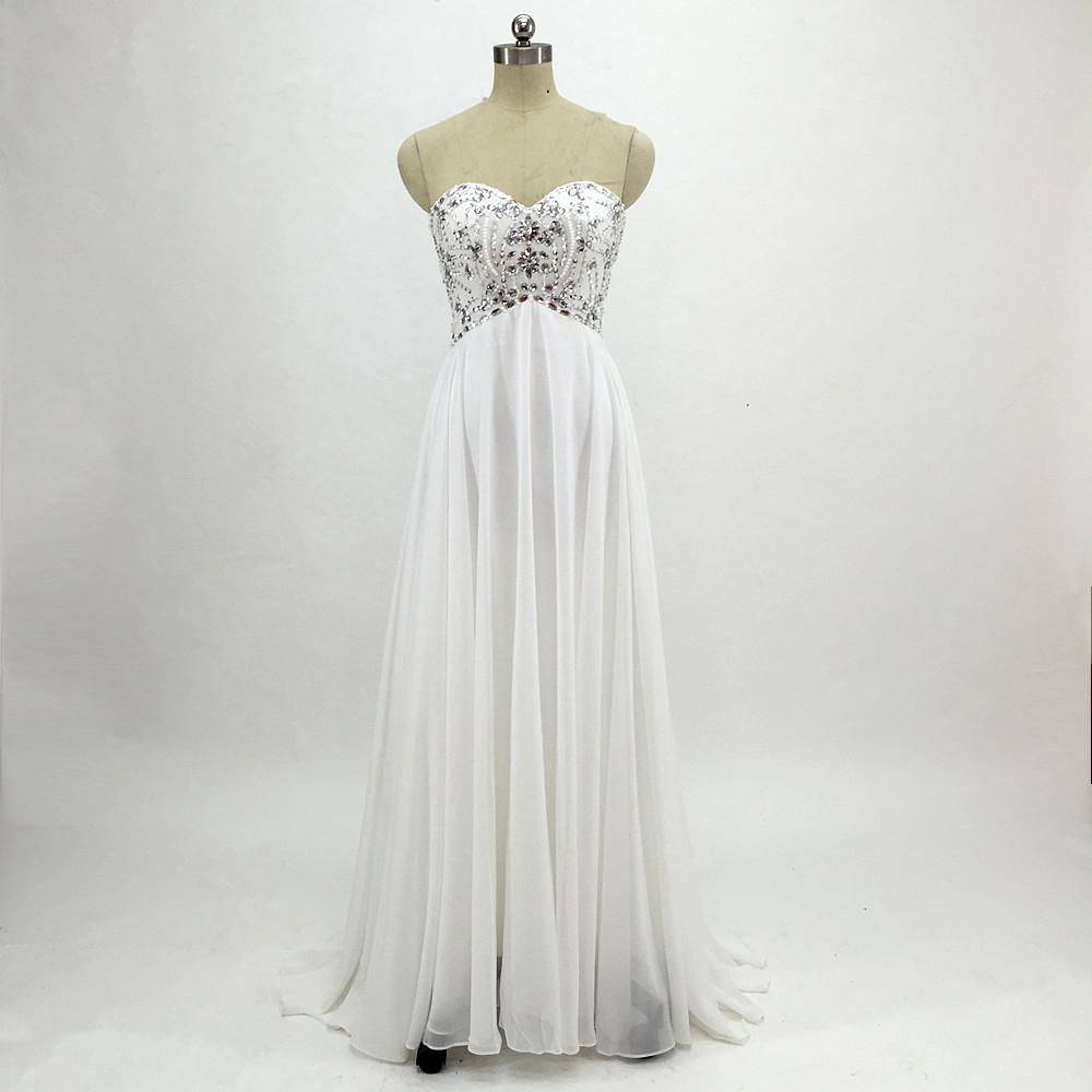 Sexy Chiffon A Line Beach Wedding Dresses Vintage Boho Cheap Bridal Gowns Vestidos De Novia Robe De Mariage Bridal Gown in stock 9
