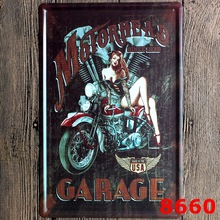 motorhead Garage Vintage Metal Tin Signs Retro Tin Plate Sign Wall Decoration for Cafe Bar Shop and Restaurant.custom neon sign