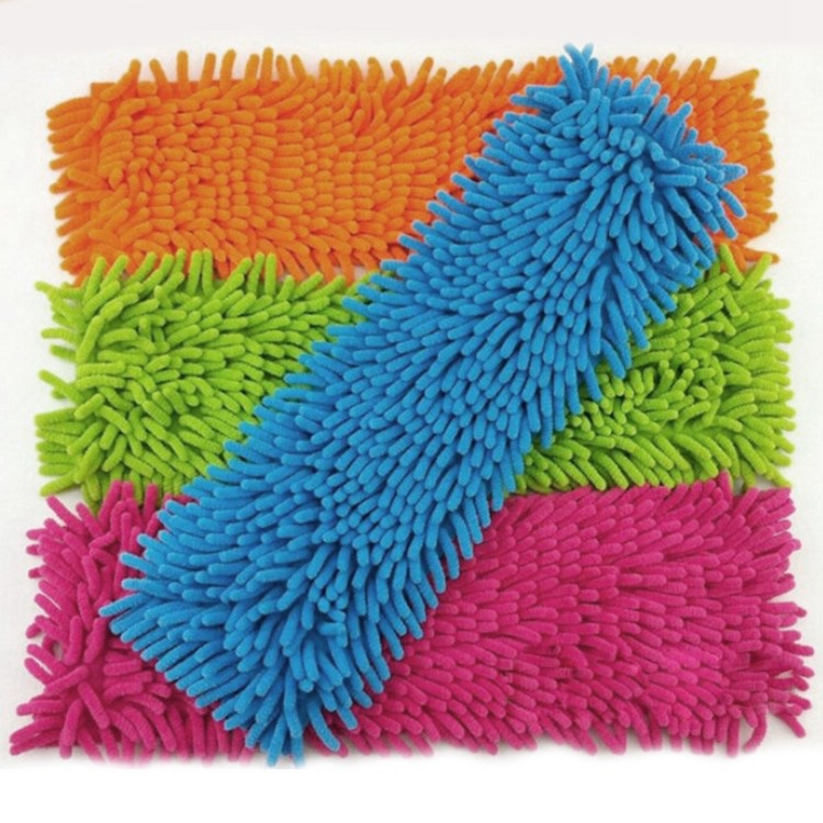 1 Pc Mops Head Cleaning Brushes Floor Cleaning Chenille Mop Head Home Dust Refill Microfiber Top Household Replacement Brushes(China (Mainland))