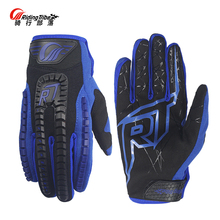 Riding Tribe Motocross Gloves BMX ATV Gants Moto Racing Gloves Breathable Riding Cycling Luvas Touch Screen Motorcycle Glove(China)