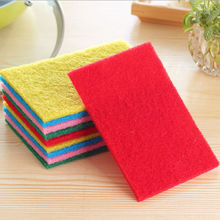 10PC Magic Sponge Eraser Cleaning Towel Cloth Kitchen Dish Foam Pads Cleaner Hot Free Shipping(China)