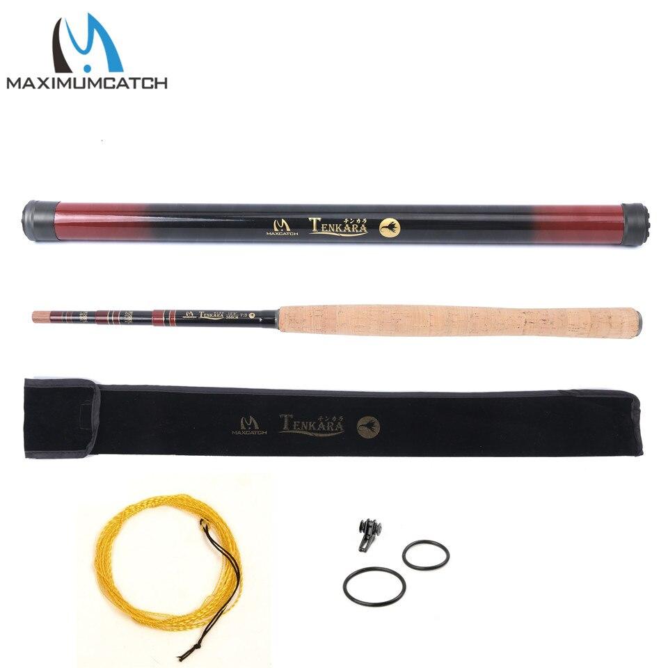 Maximumcatch Tenkara Fly Fishing Rod Multi-Size Telescopic (108, 1110, 129) &amp; Line Combo Tenkara Fly Rod<br><br>Aliexpress