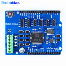 L298P Shield R3 DC Motor Driver Module 2A H-Bridge 2 way 5V to 12V For Arduino UNO 2560 NW