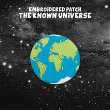 1Pcs Universe Earth Embroidered Patch for Clothing Stick on Sew Applique for T-shirts Jeans Biker Patch Shoes Bags Sticker Badge(China)