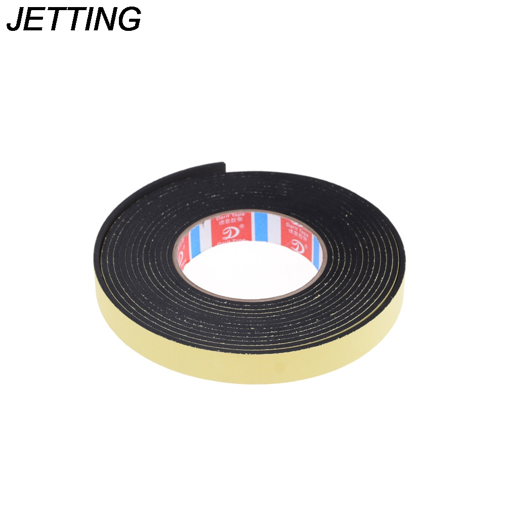 5m 20mm Wide x 3mm Thick Self Adhesive Foam Tape Black Single Sided Self Adhesive Foam Tape Closed Cell