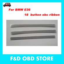 For BMW E36 3 Series OBC LCD Display Pixel Repair 18 Button Siemens On Board Computer Ribbon Cable E36 18 button obc ribbon(China)