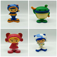 Reborn Team Umizoomi plastic Baby Children Best Gift Unique Gifts no battery XSJ033