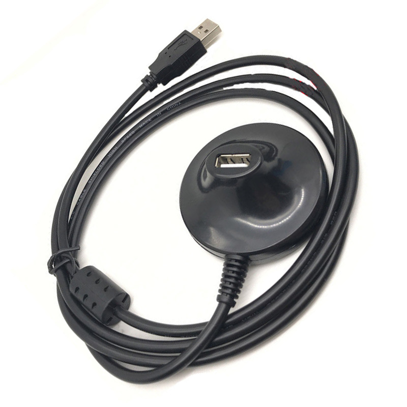 5ft USB 2.0 A Male to USB Female Adapter Base Docking Stand Extension Cable Lead