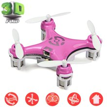 Cheerson CX - 10 Mini Quadcopter 4CH 6 Axis Gyro 2.4GHz RC Quad Copter 360 Degree Eversion Drone Dron Radio Control Helicopter(China)