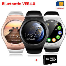 Bluetooth Smart Watch for Windows Phone V365 Full Circle Touch Screen Smartwatch Sport Fitness SIM TF Card For Apple IOS Android