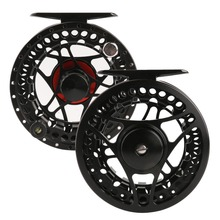 Maximumcatch MC 9/11 Weight Fly Fishing Reel CNC Machine Cut Fly Reel  Large Arbour Aluminum Fly Reel
