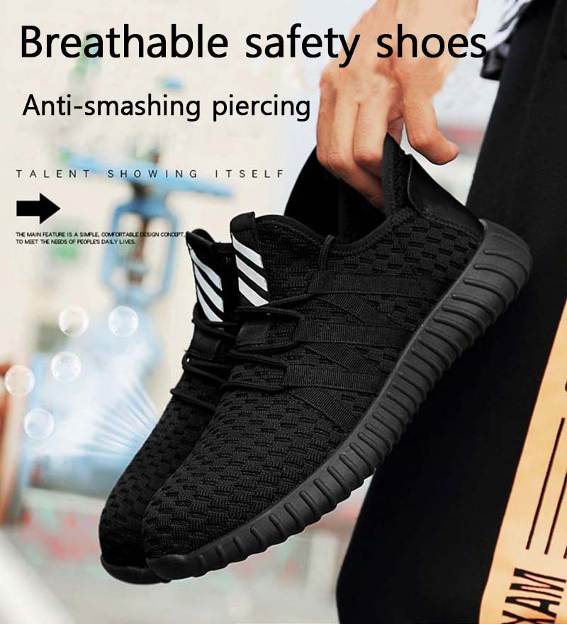 New-exhibition-men-Fashion-Safety-Shoes-Breathable-flying-woven-Anti-smashing-steel-toe-caps-Kevlar-Anti-piercing-mens-work-Shoe (9)