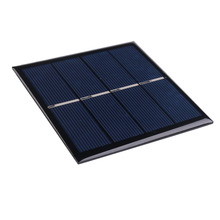 1W 2V Mini Polycrystalline Silicon Sunpower Solar Panels Module Charger For AA Battery Cell Ultra Thin Flexible DIY(China)