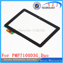 New 10.1'' inch Tablet PC Case for Prestigio MultiPad Ultimate 3G PMP7100D3G_Duo Replacement Touch Panel Digitizer free shipping(China)