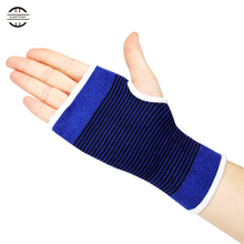 YEL 1 Pair High Elasticity Wrist Support 12*9cm Sports Safety Women Gel Protection Hand Guard Basketball Worm Wrist Support