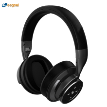 Wireless Bluetooth Foldable Earphone Headset Noise Cancelling Stereo Over-Ear Earphone with Travel Airplane Adapter Charging(China)