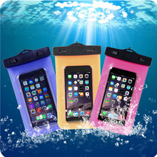 Waterproof Phone Case Pouch For LG Optimus G Pro F240 F240K F240S F240L Underwater Swimming Diving Cover Sealed Bag