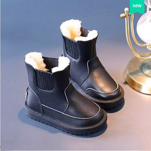 Children Kids Snow Boots Purecontrol Prewalk Flat Superflys Botas Menina Waterproof Children Military Baby Snow Boots 60Y039(China)