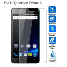 Tempered Glass Original 9H High Quality Explosion-proof LCD Protective Film Screen Protector for Highscreen Prime L(China)