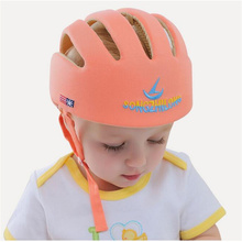 Head circumference 43-53cm fashion Safety Helmets Cotton Infant Protective Hat Headguard baby Boys Girls Crashproof SafetyCap
