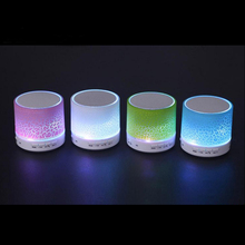 LED Portable Mini Bluetooth Speakers A9 Wireless Subwoofer Loudspeakers Bass usb speakers Support TF Card For Phone PC