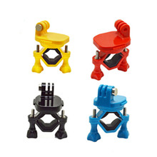 Buy Sj4000 360 Degree Rotary Bike Handlebar Holder Mount Bracket Gopro Hero 4 3 Sjcam Xiaomi Yi Go Pro Action Camera Accessories for $7.35 in AliExpress store